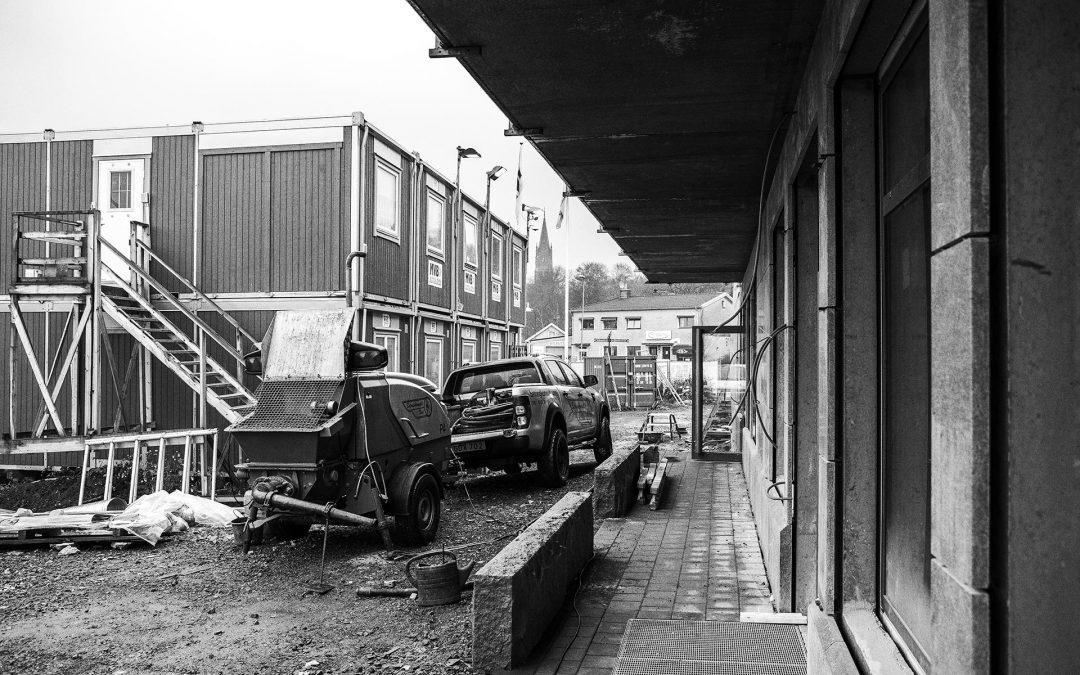Travgatan i Åby, Mölndal