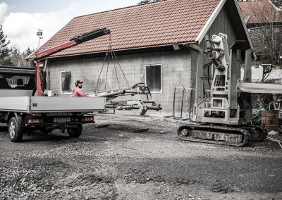 utläggningskran Betongkonsult betongutläggning